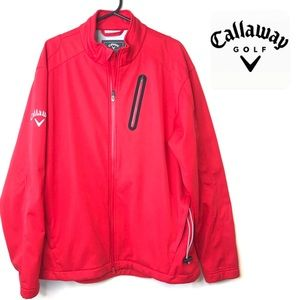 Callaway Golf Tour Authentic Red lined jacket L